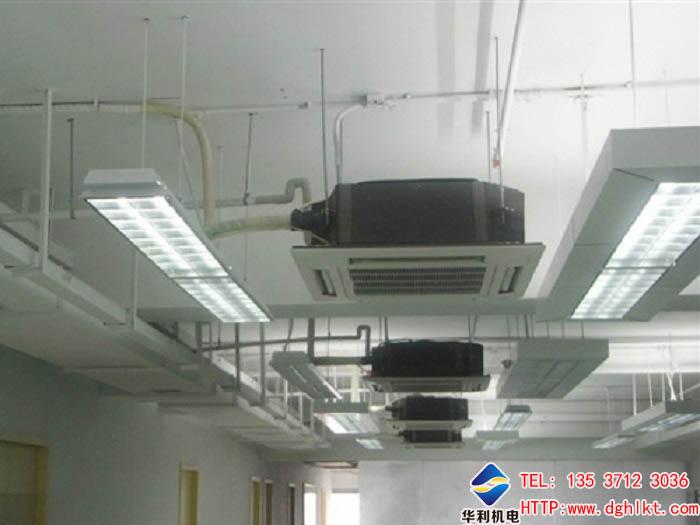 方案介绍: 项目名称:东莞扬明电子中央空调设计安装 选用空调